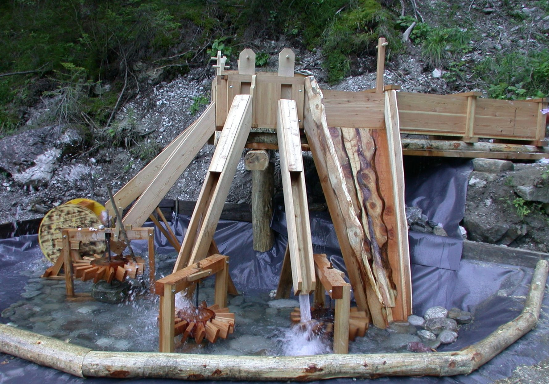 Verfahrensprojekt Kugelmühle Galitzenklamm Ost-Tirol